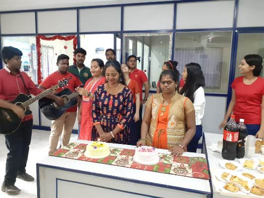 Birthday Celebration of Ms.Sindhu